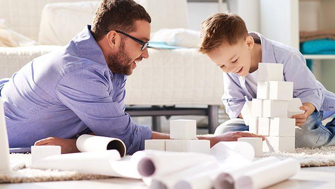 Padres mejores son más saludables