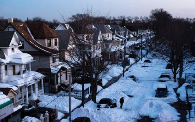 Ni la tormenta de nieve que afectó a los Estados Unidos puede detener a la Universal