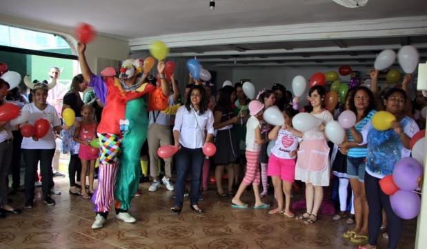 FJUni visita a los niños con cáncer en la capital de San Pablo