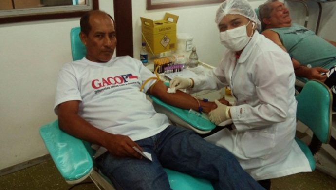 La Universal moviliza a voluntarios para la donación de sangre en Amazonas
