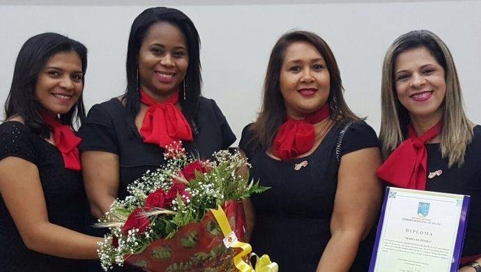 El Rahab de Pará recibe un diploma de reconocimiento