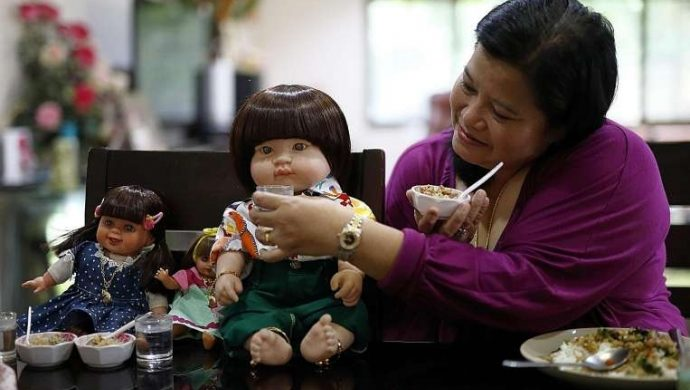 "Muñecas ""poseídas"" son furor en Tailandia"