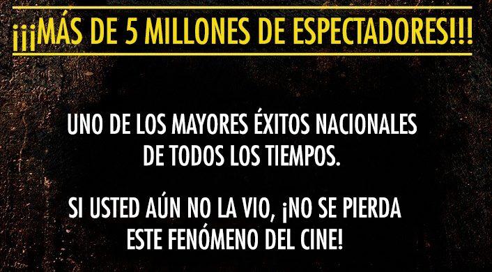 """""""Los Diez Mandamientos"""" alcanza más de 5 millones de espectadores"""