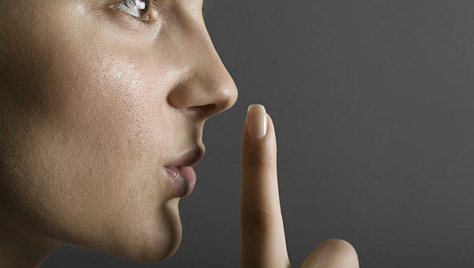 Aprenda a quedarse callado