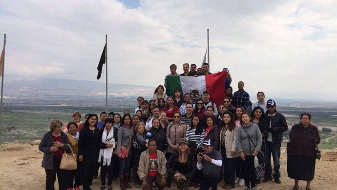La Universal de México realiza caravana a Israel