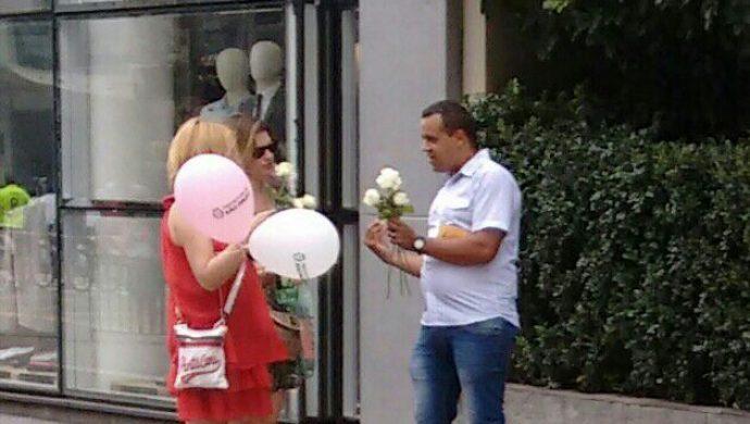 Levitas realizan una evangelización en la avenida más transitada de San Pablo