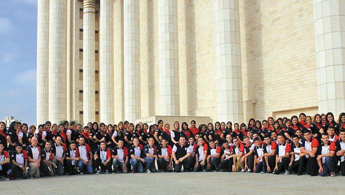 La FJU Argentina en el Templo de Salomón