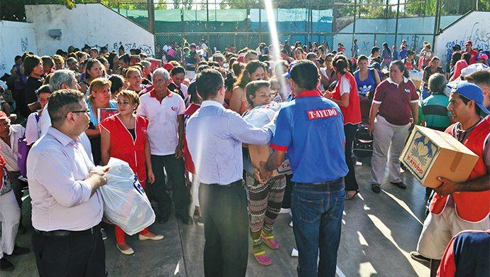T-Ayudo entregó 2,4 toneladas de alimentos y 3000 prendas de ropa en San Juan