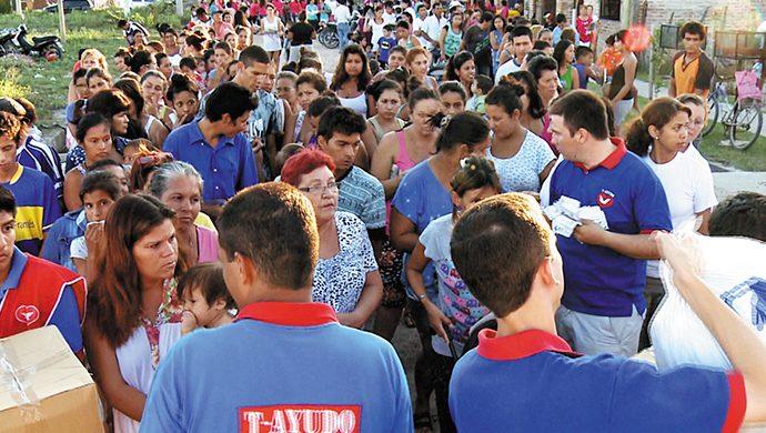 Recorrida solidaria por el interior: 8,5 toneladas de alimentos donadas en Chaco, Formosa y Corrientes