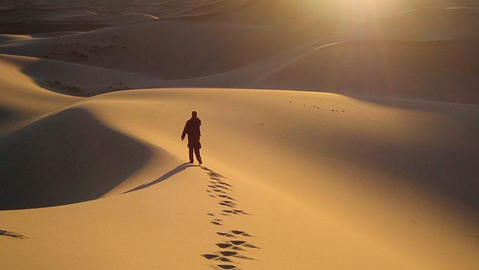Dios lo guiará en el desierto