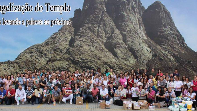 Levitas del Templo de Salomón visitan casa de reposo de San Pablo