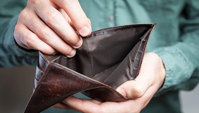 El dinero no alcanza