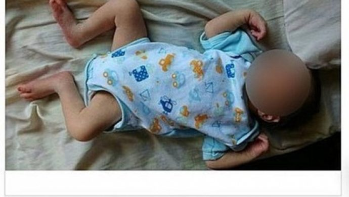 Pareja detenida por anunciar a un bebé de 10 días para la venta en internet