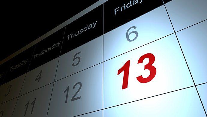 """Miedos y supersticiones que giran en torno al """"Viernes 13"""""""
