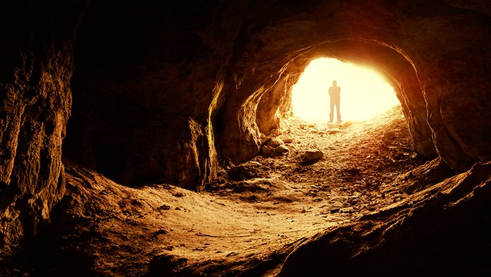 Salga de la cueva