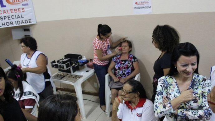 El Grupo Caleb de Tocantins promueve una tarde de cuidados para los ancianos