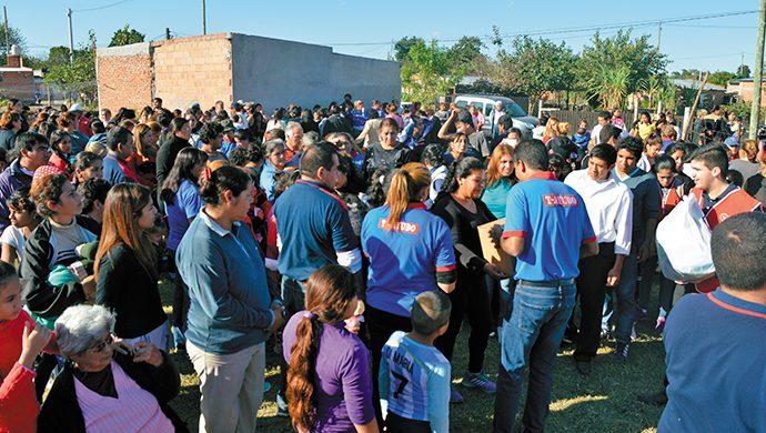 Tucumán recibió 3,5  toneladas de alimentos en un nuevo evento solidario