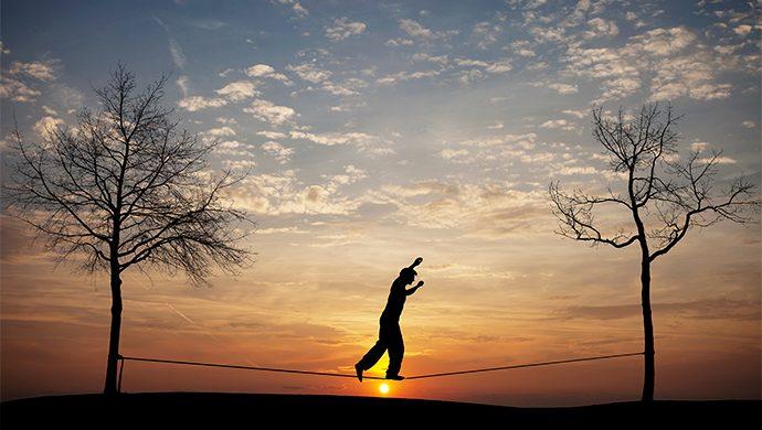 Manténgase en perfecto equilibrio