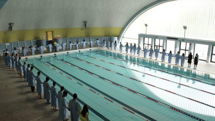 La Universal en Italia realiza el bautismo en las aguas de más de 100 personas