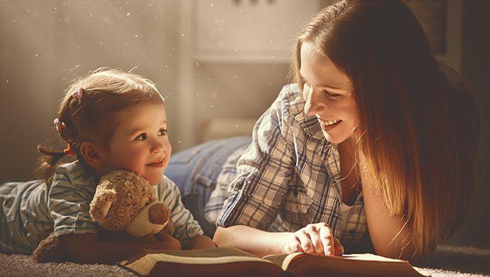 Las historias bíblicas acercan a los niños a Dios