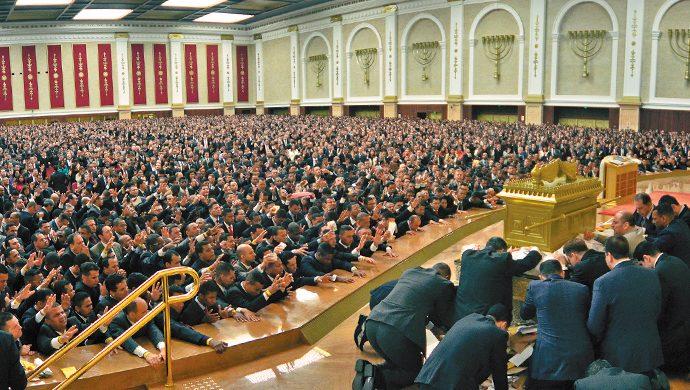 Clamor por la respuesta en el Templo de Salomón