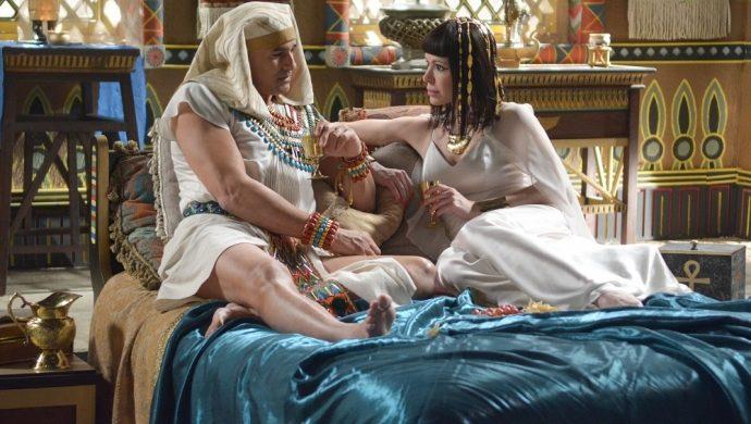 La alegría de una noble egipcia