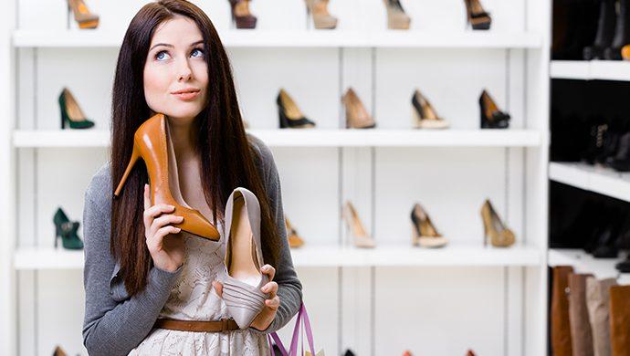 Encuentre el calzado adecuado