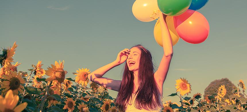 Sea feliz