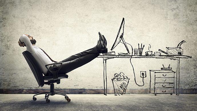 ¿Usted se dispersa fácilmente en el trabajo?