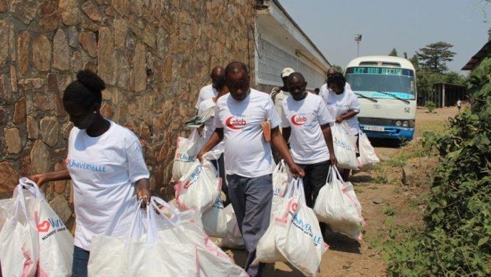 El Grupo Caleb promueve la acción social en África