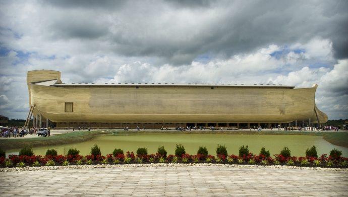Inauguran réplica del Arca de Noé en Estados Unidos