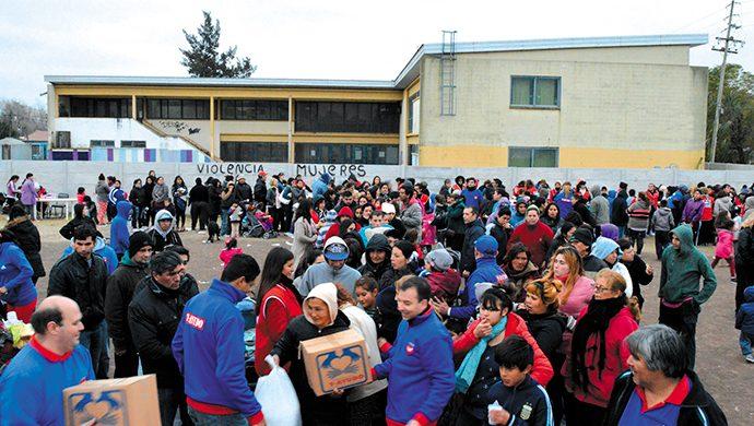 T-Ayudo entregó 6,5 toneladas de alimentos y 12 200 prendas de ropa en el Gran Buenos Aires