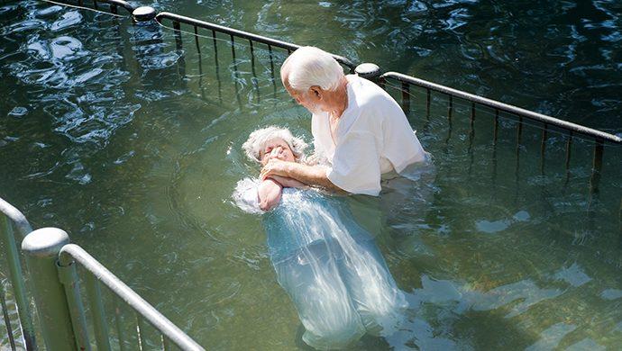 ¿Qué le falta para bautizarse?