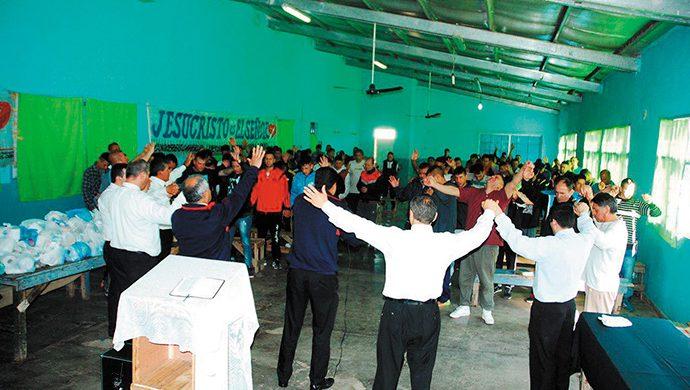 Grupo Carcelario en acción
