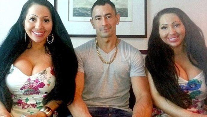 Hermanas gemelas están de novias con el mismo hombre y pretenden embarazarse de él