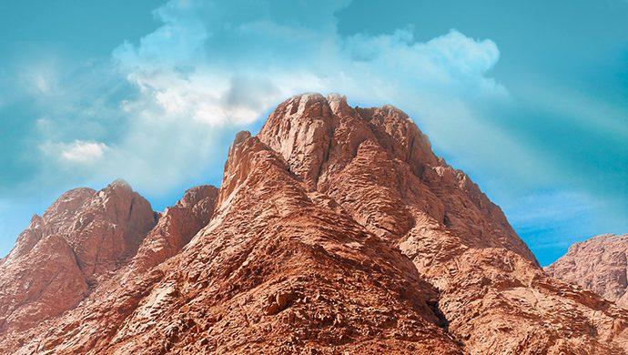 Monte Sinaí, lugar de cambio de vida