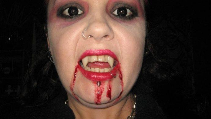 Vampira de la vida real