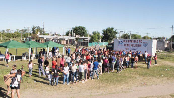 La solidaridad se hizo presente en Gualeguaychú