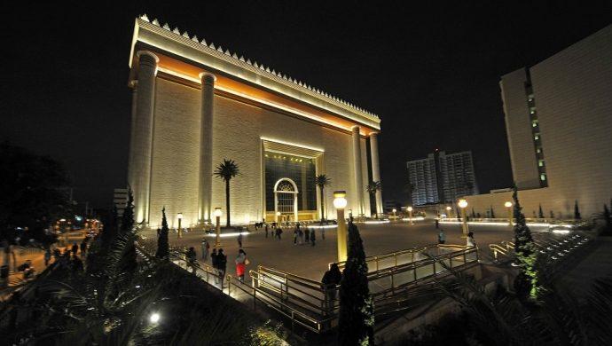 El Templo de Salomón cumple tres años