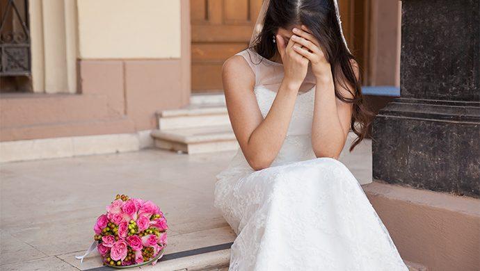 Fotos de la novia desnuda destruyen la fiesta de casamiento