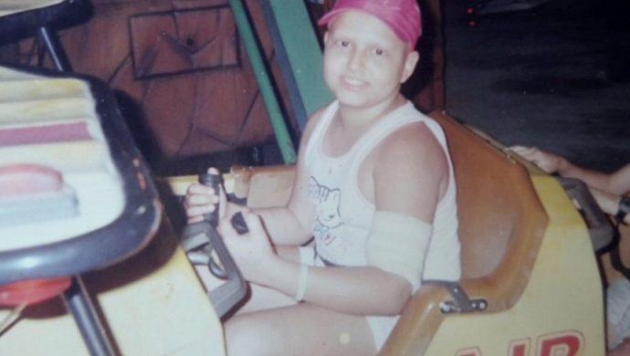 Ella tuvo cáncer a los 11 años