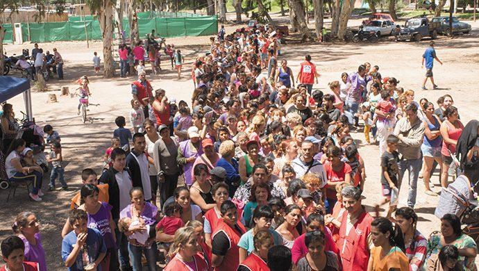 2,2 toneladas donadas en Mendoza