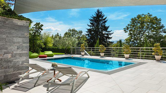 ¿Que tener en cuenta para el diseño de una piscina y solarium?