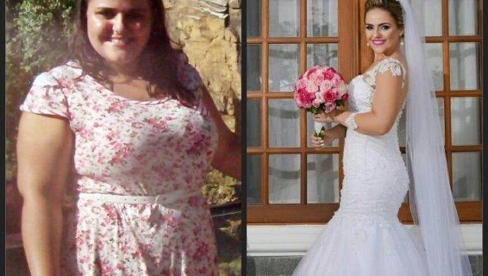 Una pareja lucha contra la obesidad y la mujer pierde 36 kilos