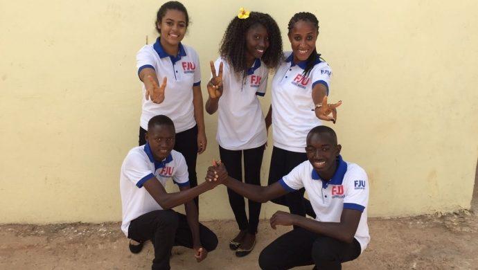 La FJU promueve un concurso de baile en Guinea-Bisáu