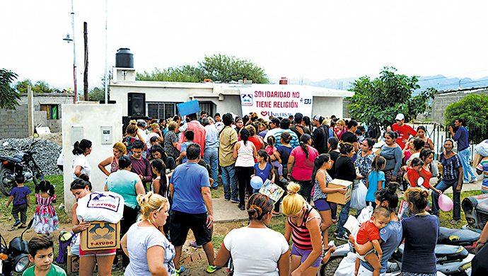 La solidaridad estuvo presente en Catamarca