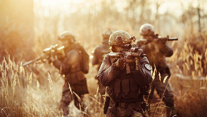 Estamos en, guerra no se distraiga