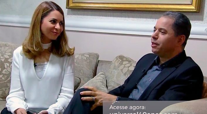 Obispo Domingos Siqueira y Núbia Siqueira – Universal 40 años