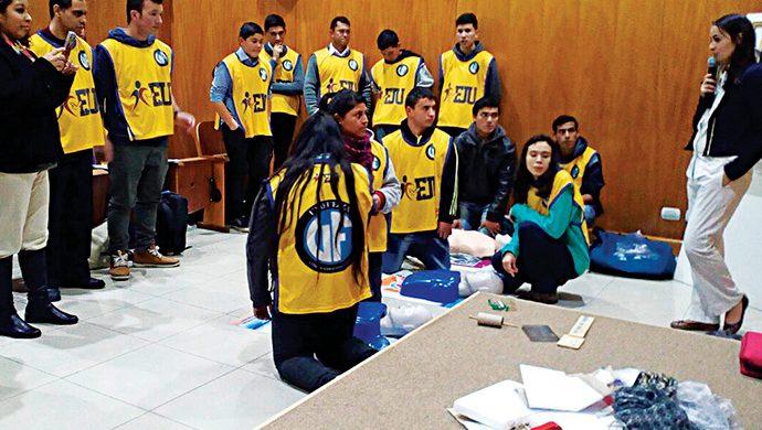 La FJU realiza el primer curso de RCP