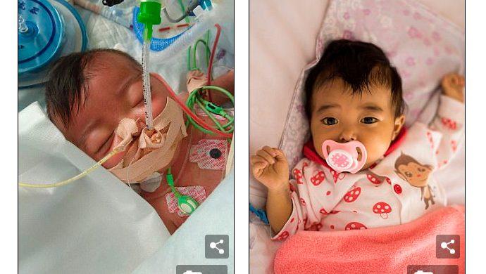 Padres abandonan a una recién nacida enferma porque su tratamiento era caro